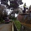 Gutter Cleaning at Fowey Hall