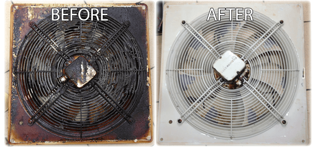 Kitchen Extractor Fan Cleaning